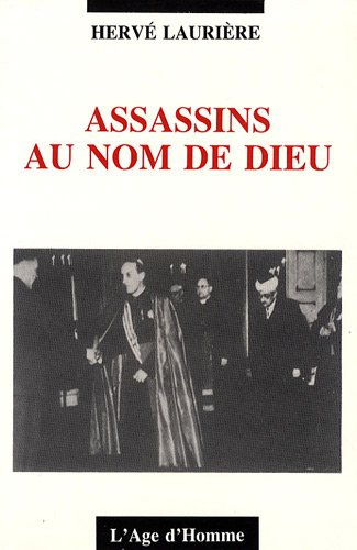 9782825104149: Assassins au nom de dieu