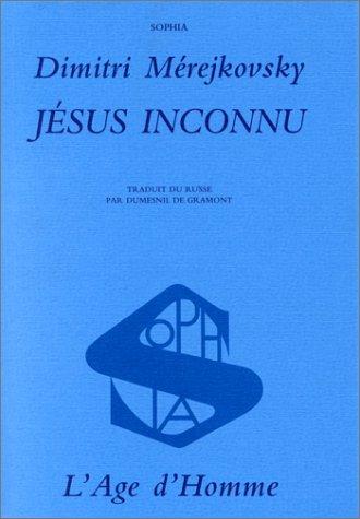 9782825105597: Jésus inconnu