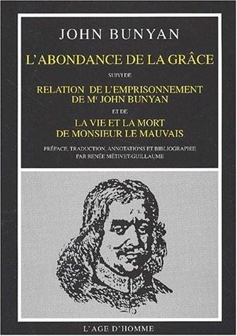 Abondance de la grace (9782825114476) by [???]