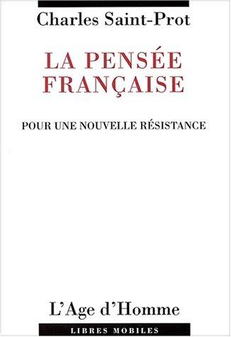 9782825116241: La pens�e fran�aise