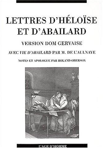 9782825116340: Lettres d'H�loise et d'Abailard, version dom Gervaise