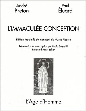 9782825116401: L'immaculee conception