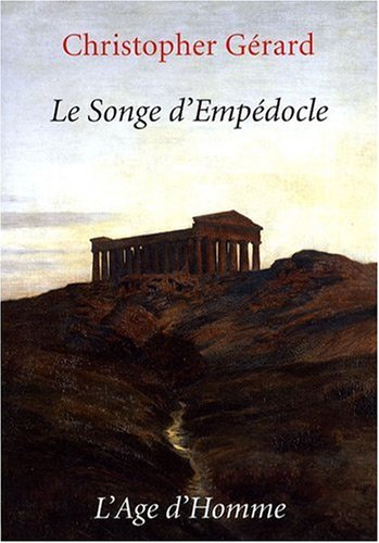 9782825117637: Le Songe d'Empedocle