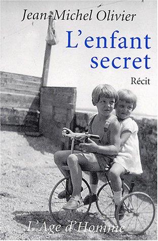 9782825118122: L'enfant secret (Contemporains)