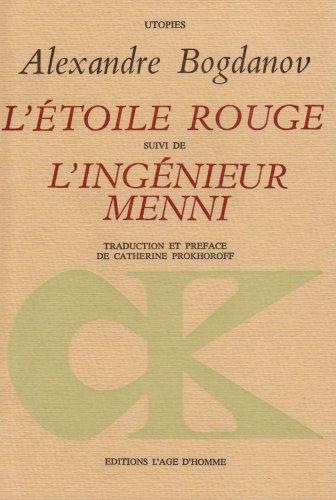 9782825120071: L'Etoile rouge - L'Ingénieur Menni