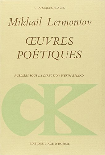 9782825120422: Oeuvres po�tiques