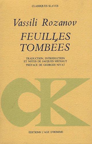9782825120804: Feuilles Tombees