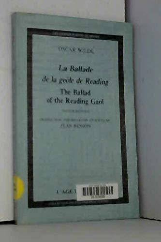 9782825123270: La Ballade de la geole de Reading