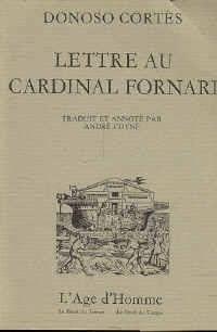 9782825124383: Lettre au cardinal Fornari