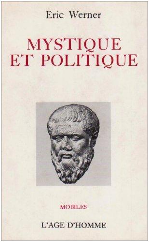 9782825131855: Mystique et Politique