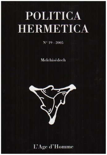 9782825136317: Politica Hermetica, N° 19 (French Edition)