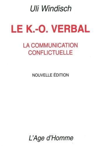 9782825137529: Le K. O. Verbal