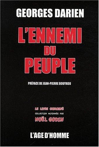 9782825138649: Ennemi du peuple (l') (Le livre carabiné)