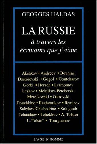 9782825139073: La Russie à travers les écrivains que j'aime