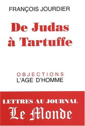 9782825139677: De Judas à Tartuffe (French Edition)