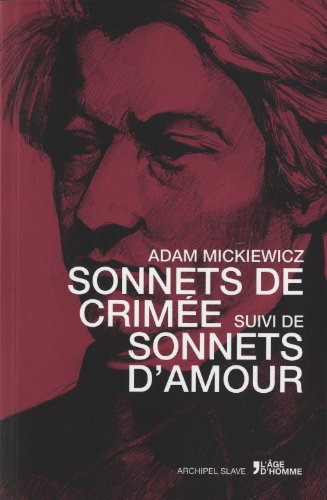 9782825140796: sonnets de Crimée ; sonnets d'amour