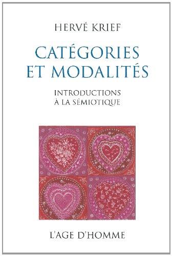 9782825141151: Catégories et modalités : Introductions à la sémiotique
