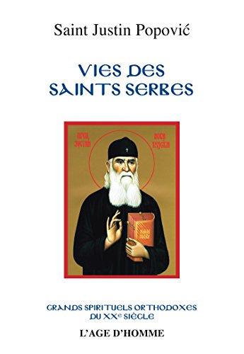 9782825143513: Vie des Saints Serbes