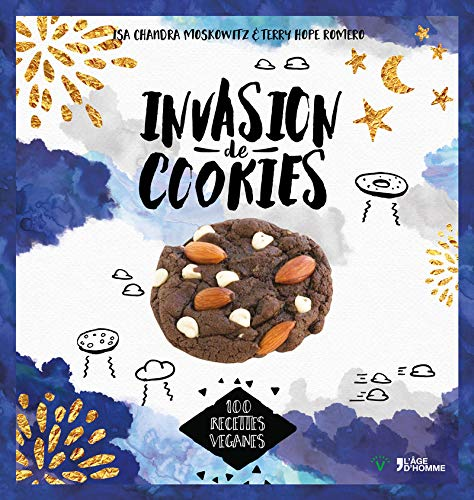 9782825145807: Invasion de cookies : 100 recettes véganes