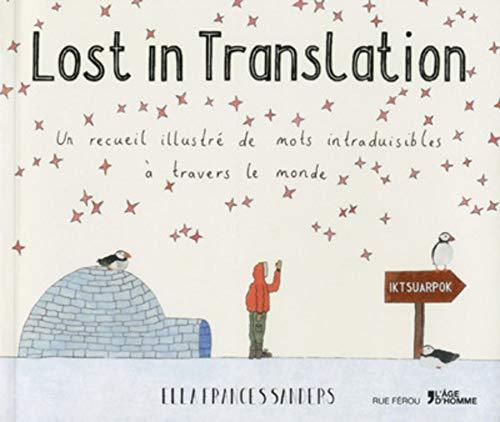 9782825146552: Lost in translation (Rue Férou)