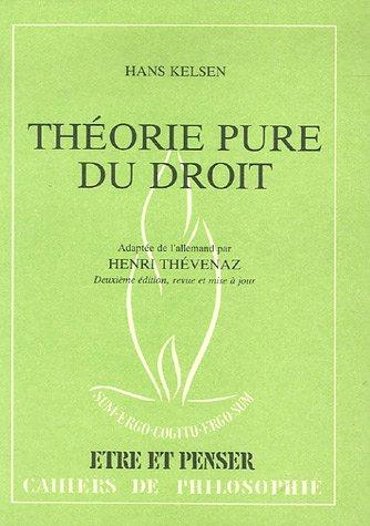 9782825207536: Théorie pure du droit