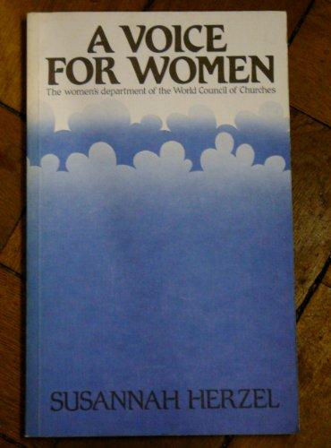 Voice for Women: Herzel, Susannah