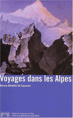 9782825707715: Voyages dans les Alpes