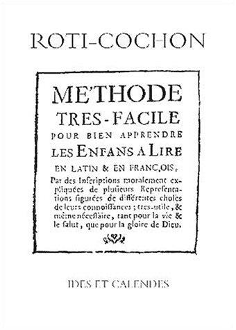 9782825801703: Methode tres facile pour bien apprendre les enfants a lire en latin et en français