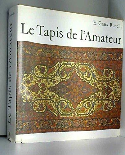 9782826401285: Le Tapis de l'Amateur