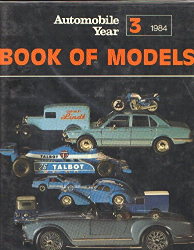 Automobile Year Book of Models 3 Editions 1984