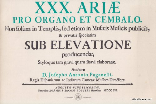 9782826605577: XXX Ariae pro organo et cembalo