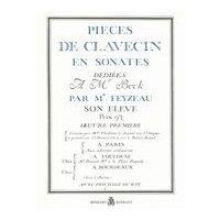 Pieces de Clavecin en Sonates. - FEYZEAU, J. [sxx *° Music °*]