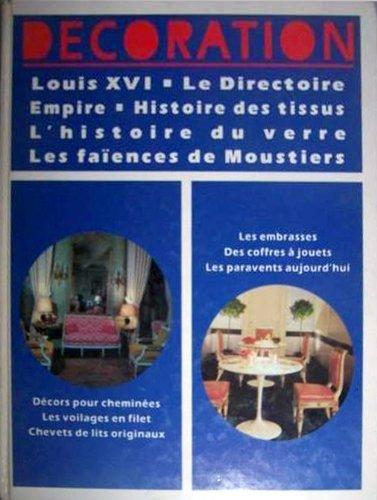 9782827002832: Encyclopedie de la decoration volume 2 Louis XVI Le directoire Empire Histoire des tissus