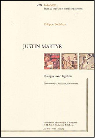 9782827109586: Dialogue avec Tryphon : édition critique : 2 volumes