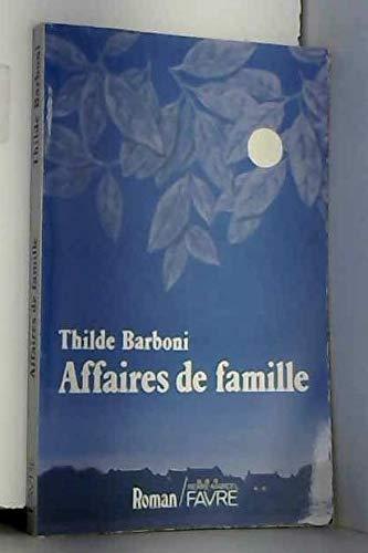 9782828902674: Affaires de famille (French Edition)