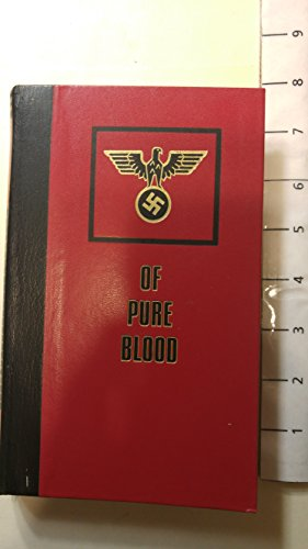 9782829500084: Of Pure Blood (Part One - The Orphans of Shame)