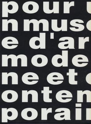 Pour un musee d'art moderne et contemporain: Collections du Musee d'art et d'histoire et de l'AMAM, Geneve, 1950-1990 (French Edition) (2830600878) by Geneva (Switzerland)