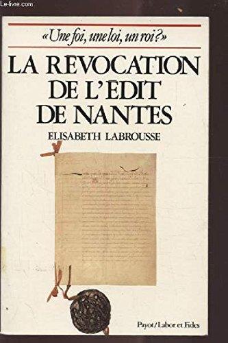 """Une foi, une loi, un roi """".: LABROUSSE Elisabeth"""