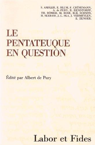 Pentateuque en question nle ed: de Pury ( Hrsg.), Albert::