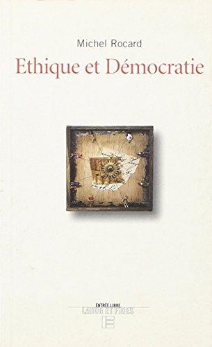 9782830908343: Ethique et démocratie (Entrée libre) (French Edition)