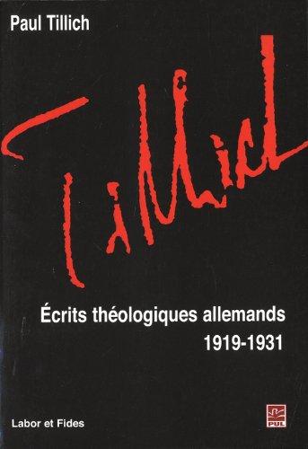 9782830914276: Ecrits th�ologiques allemands