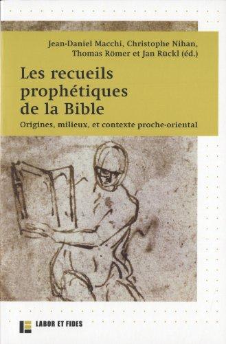 9782830914368: prophétismes ; les nouvelles perspectives bibliques, historiques et religieuses