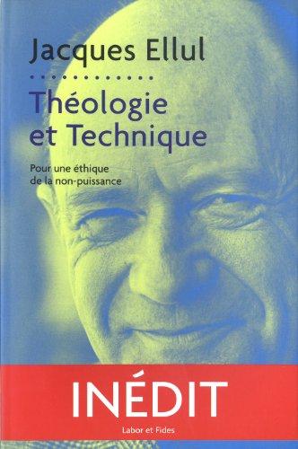 9782830915211: Théologie et technique