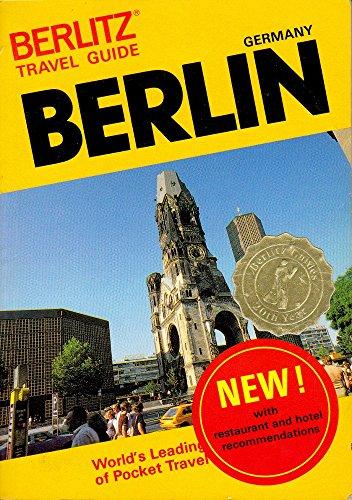 9782831500249: Berlitz Travel Guide to Berlin (Berlitz Travel Guides)