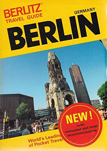 9782831500249: Berlitz Travel Guide to Berlin (Berlitz Travel Guides)