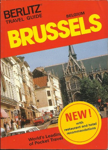 Berlitz Travel Guide to Brussels (Berlitz Pocket Travel Guides): Berlitz Gu.