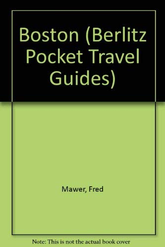 9782831506937: Berlitz Boston (Berlitz Pocket Guides)