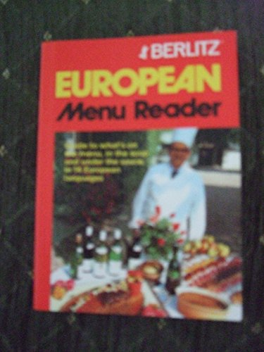 9782831508375: Berlitz European Menu Reader (European Guides) (English and Multilingual Edition)