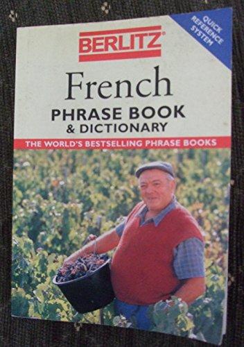 Berlitz French Phrase Book & Dictionary (Berlitz Phrasebooks): Berlitz