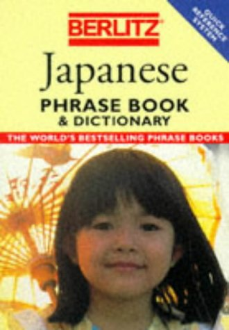 9782831508986: JAPANESE PHRASE BOOK AND DICTIONARY (Berlitz Phrasebooks)
